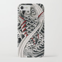 Japanese tattoo style Koi iPhone Case