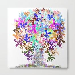 Earth's Family Tree Metal Print