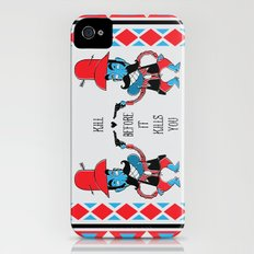 Bad Guys have afraid of Love iPhone (4, 4s) Slim Case