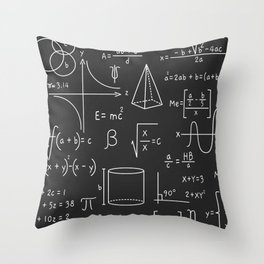 Math is Life Throw Pillow