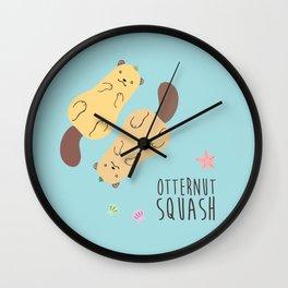 Otternut Squash Wall Clock