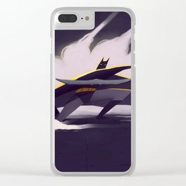 The Darth Knight Clear iPhone Case