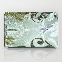 tiffany iPad Cases featuring tiffany lake by Ariadne