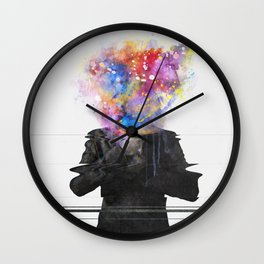 Glitch Mob Wall Clock