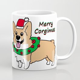 Merry Corgimas Coffee Mug