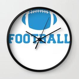Dillon Panthers Football Wall Clock