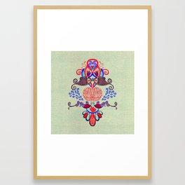 Sealife Harmony  Framed Art Print