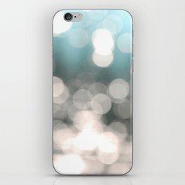 Aqua and Grey iPhone Skin