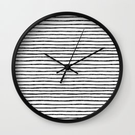 painted stripes Wall Clock