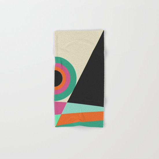 Geometric#30 Hand & Bath Towel