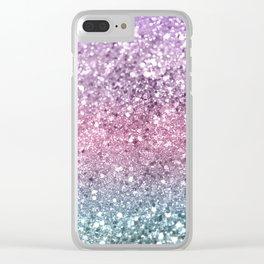 Unicorn Girls Glitter #5 #shiny #pastel #decor #art #society6 Clear iPhone Case