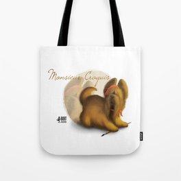 Monsieur Croquis Tote Bag