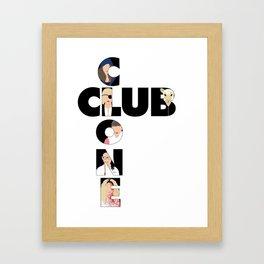 Orphan Black - Clone Club V1 B Framed Art Print