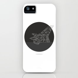 Soars to ever darker height iPhone Case
