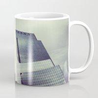 buildings Mugs featuring buildings by ALEXIS