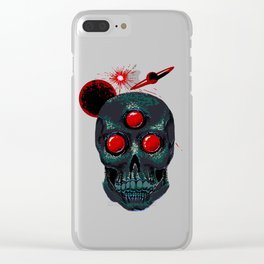 Horror From Beyond Time and Spaaaaaaace! Clear iPhone Case
