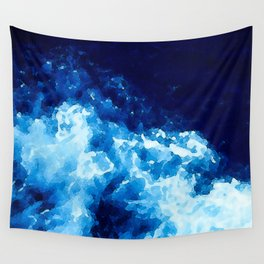 The Deep Blue Sea Wall Tapestry