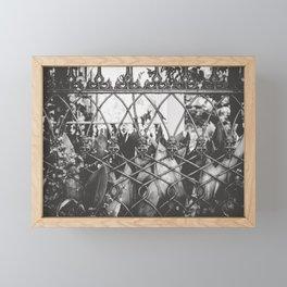 Skull Fence of New Orleans Framed Mini Art Print