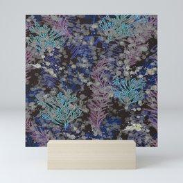 Abstract Seaweed Under Sea Mini Art Print