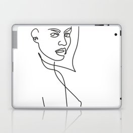 She Knows the Way to Your Heart Laptop & iPad Skin
