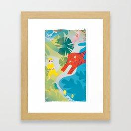 The Tyger Part 2 Framed Art Print
