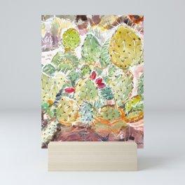 Cactus Patch, Sedona Mini Art Print