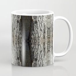 Oak Tree Bark Vertical Pattern by Debra Cortese Designs Coffee Mug