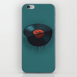 Hot Record iPhone Skin