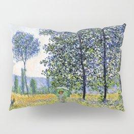 """Claude Monet """"Sunlight Effect under the Poplars"""", 1887 Pillow Sham"""