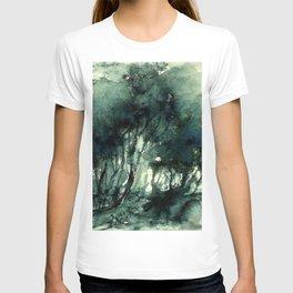 mürekkeple orman T-shirt