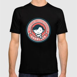 Sherlock - Cute Sherlock Holmes in Red T-shirt