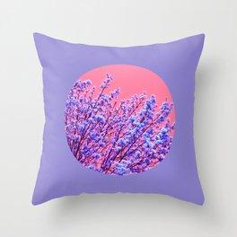 spring tree XVIII Throw Pillow