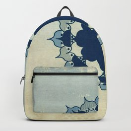 Lotus Mandala Sand Water Wash Backpack