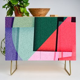 a lid fits on each pot Credenza