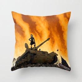 Tank Throw Pillow