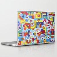 game Laptop & iPad Skins featuring Game by Tanja K