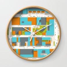 Ground #07 Wall Clock