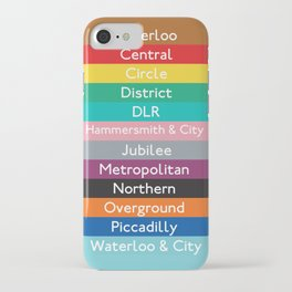 London Underground iPhone Case