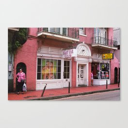 New Orleans Bourbon Street 2004 Canvas Print