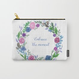 Embrace The Moment Carry-All Pouch