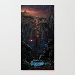 Jareth Is Back-Return To Labyrinth Canvas Print