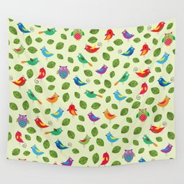 Birds pattern Wall Tapestry