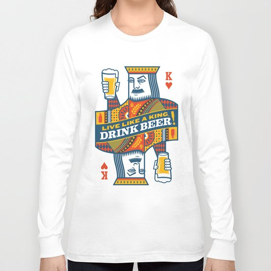 King of Beers Long Sleeve T-shirt