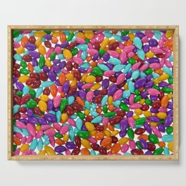 Candy Covered Sunflower Seeds Serving Tray