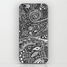 Aztec B&W (Handmade) iPhone Skin