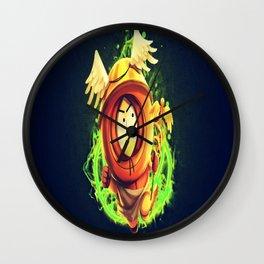 Greek God Kenny Wall Clock
