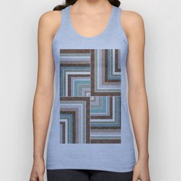 3 marble combination patchwork Unisex Tank Top