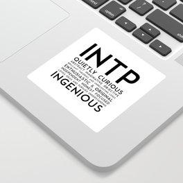 INTP Sticker