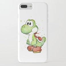 Yoshi Watercolor Mario iPhone 7 Plus Slim Case