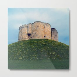Clifford's Tower Metal Print
